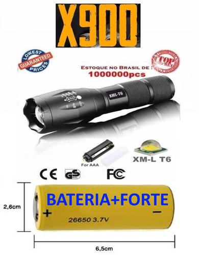 lanterna militar t6 à prova d' água policial a melhor x900