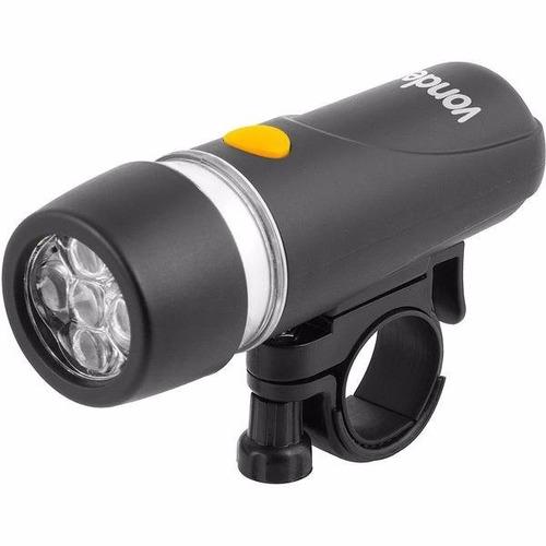 lanterna para bicicleta vonder c/ 5 leds