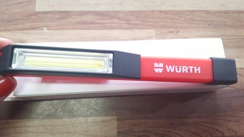 lanterna para mecanico cob led compact magnetica wurth