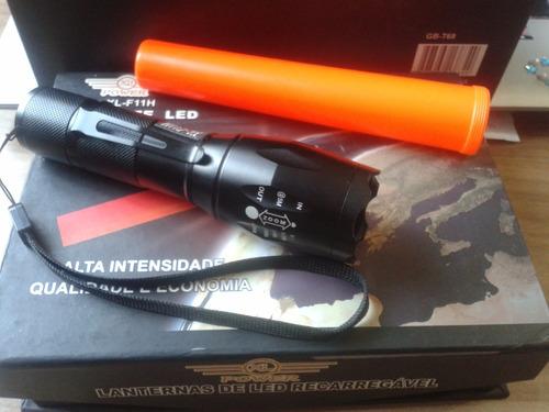 lanterna power -  led regarregável xl-f11h