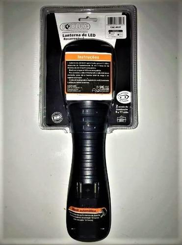 lanterna recarregavel 11 leds - foxlux