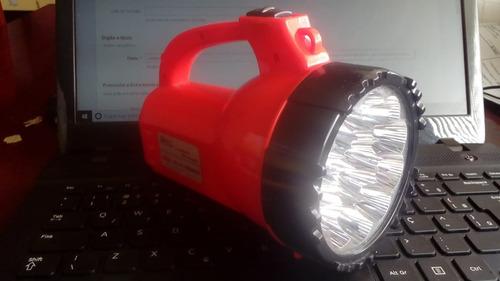 lanterna recarregável 15 leds