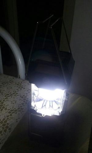 lanterna solar com varias funcoes