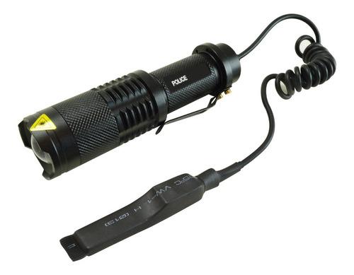 lanterna tática 1.350.000 lumens acionador remoto mount #189