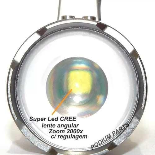 lanterna tatica holofote /farol 108000w zoom 3 baterias   t6