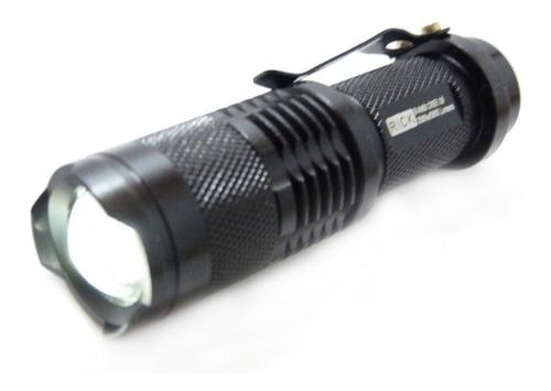 lanterna tática led q5  -  recarregável - 9000