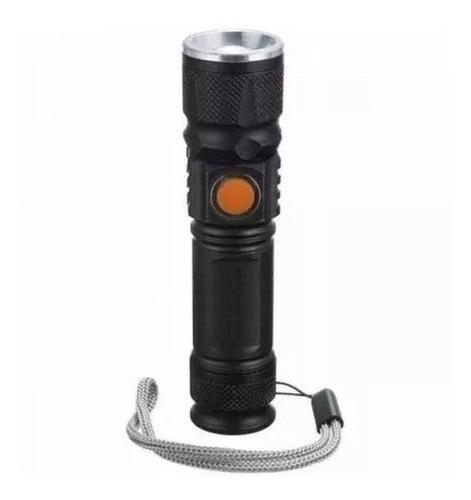 lanterna tática led recarregável usb impermeável
