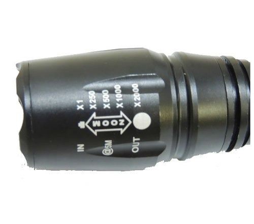 lanterna tática led t6 28000w 84000 lumens 2 baterias nova
