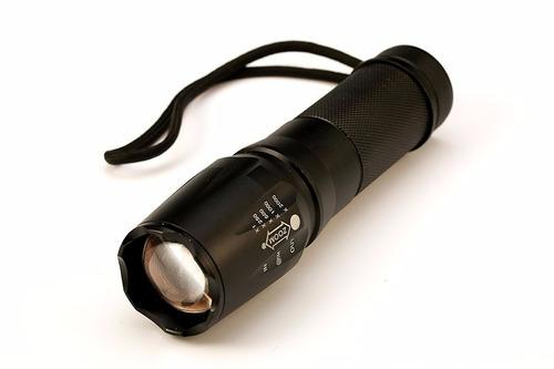 lanterna tática militar x900 original + brinde bateria 26650