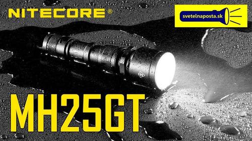 lanterna tática nitecore mh25gt 1000lm original