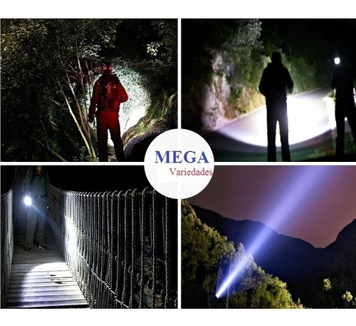 lanterna tatica police 960.000 lumens led t6 + forte x900