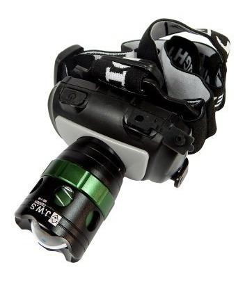 lanterna tática police cabeça led cree t5 7200w 20000 lumens