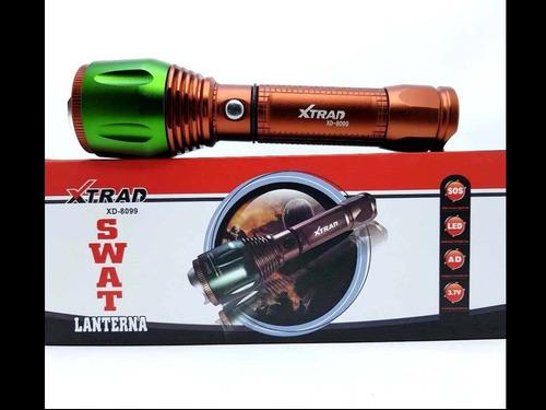 lanterna tatica potente led q5 cree lente 68000w xd8099