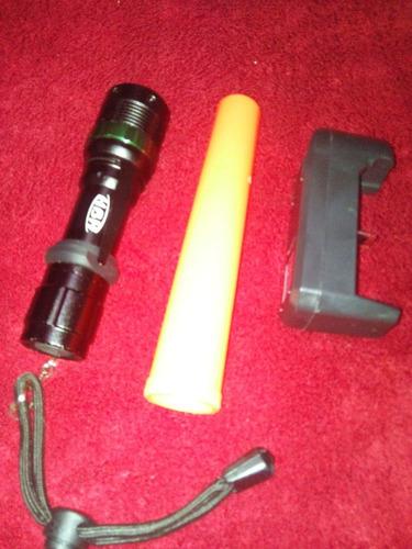 lanterna tática profissional cree led police recarregável