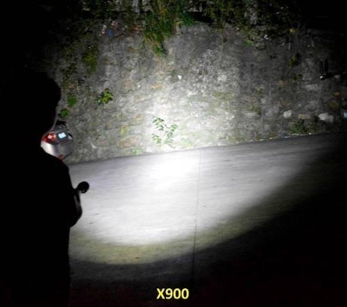 lanterna tática profissional shadowhank x900 original caixa