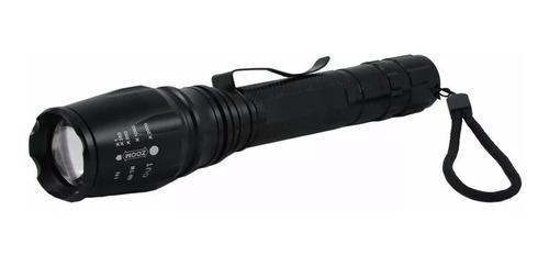 lanterna tática t6 profissional 460000 lumens 2 baterias