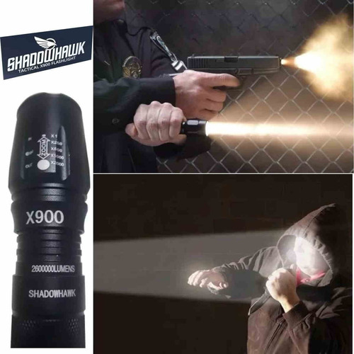 lanterna tática x900 shadowhawk original selo holografico