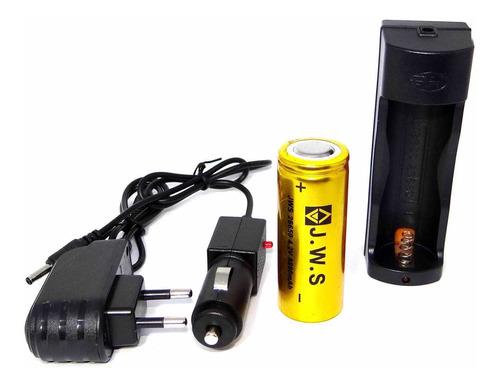 lanterna tática xtreme led t9 completa c/ 2 baterias