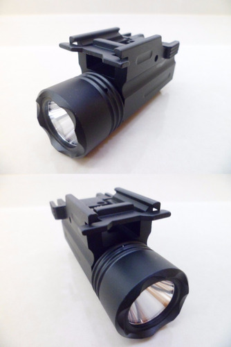 lanterna tática/hilight 400 lumens cree led metal/ paintball