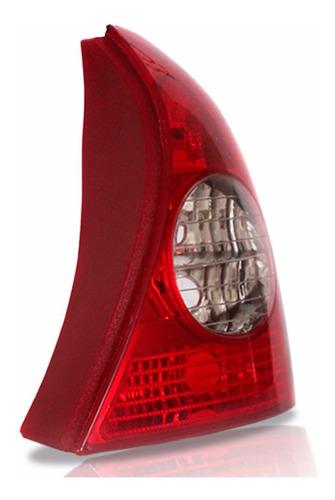 lanterna traseira clio hatch 03 04 05 06 07 08 09 11 bicolor