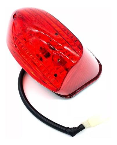 lanterna traseira completa com lâmpada dafra kansas 150