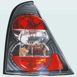 lanterna traseira cristal do renault clio 1999-2007