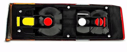 lanterna traseira escort 1987 a 1992 tricolor ld