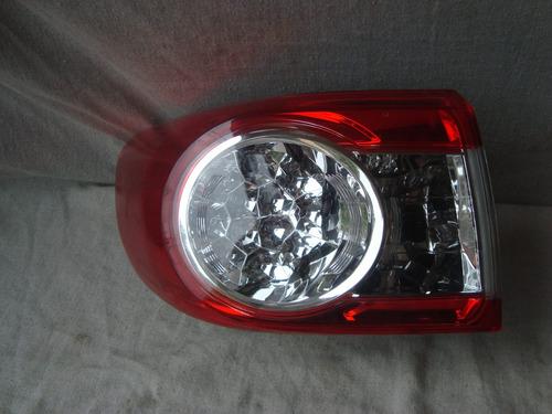 lanterna traseira lesquerdo corolla 2012/2014 c/led