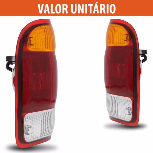 lanterna traseira ranger 98 99 2000 2001 2002 2003 tricolor