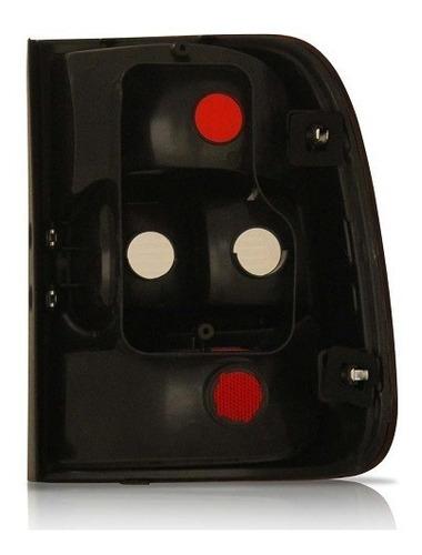 lanterna traseira saveiro g5 g6 2009 2010 2011 2012 bicolor
