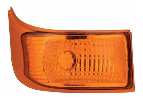 lanterna traseira simples marcopolo g6 amarela le