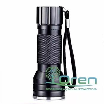 lanterna ultravioleta suryha 12 led 10cm preta