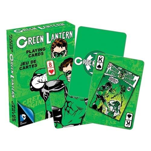lanterna verde - baralho oficial dc comics promoção
