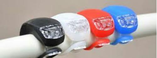 lanternas de bike de silicone