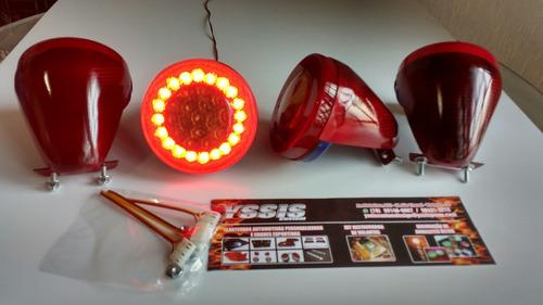 lanternas ferrari f-430 leds custom réplicas personalizadas