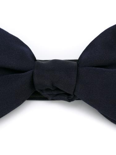 lanvin gravata borboleta de seda / bow tie