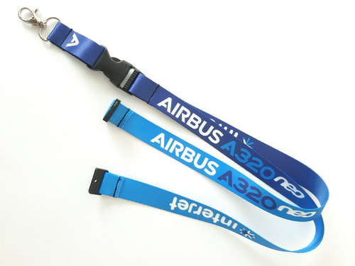lanyard livery aij a320neo  - remove before flight ®