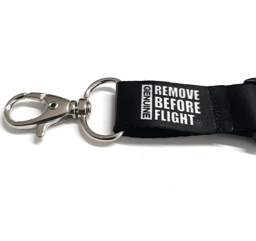 lanyard pilot 3 barras gris remove before flight ®