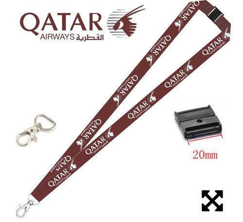 lanyard qatar doble vista