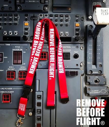 lanyard  remove before flight combo tres piezas