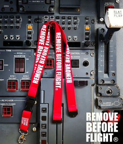 lanyard  remove before flight ® con envio