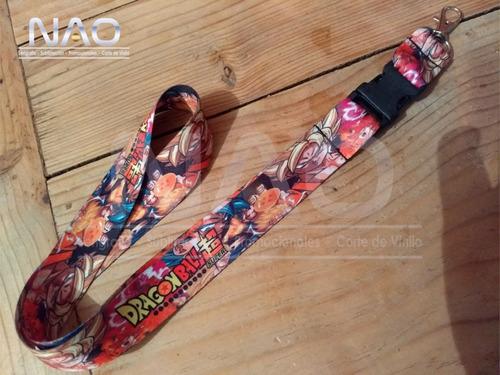 lanyard/cordon porta gafete dragon ball super