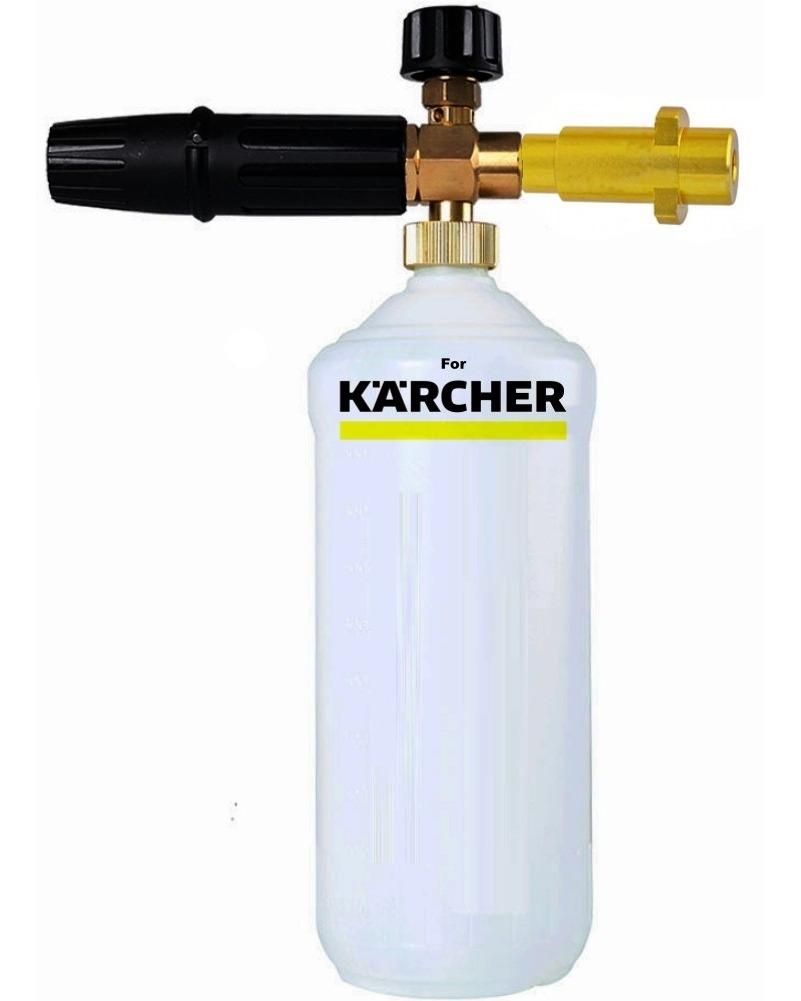 1 L coche champú Kärcher K1 K2 K3 K4 K5 K6 K7 Espuma profesional MTM Lance espuma lanza