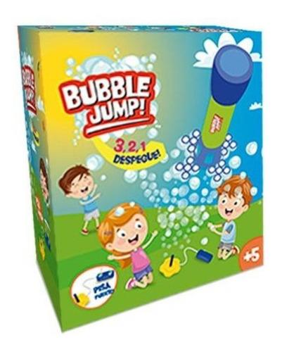 lanzador c/ burbujas bubble jump p/ exterior ik0032 educando