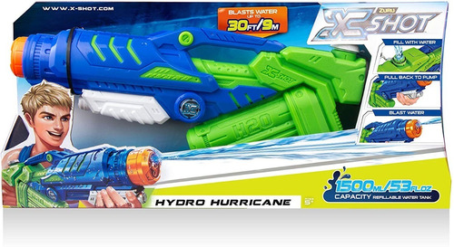 lanzador de agua x-shot hydro hurricane (1008)