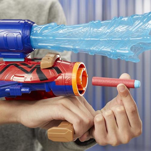 lanzador ensamblable spider-man avengers marvel
