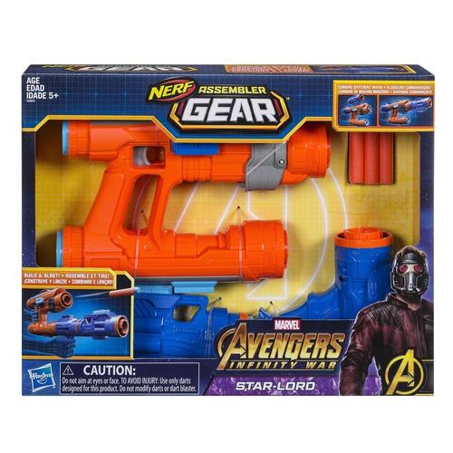 lanzador ensamblable star lord avengers marvel