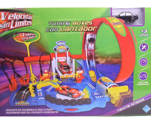 lanzador y auto pista tuning boxes