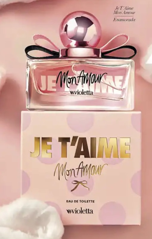 Lanzamiento Perfume Je Taime Mon Amour By Violetta