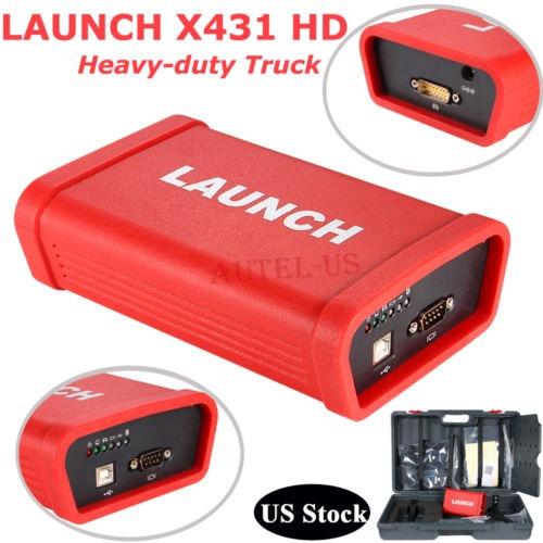 lanzamiento x431 hd heavy duty módulo diagnóstico 24 v...